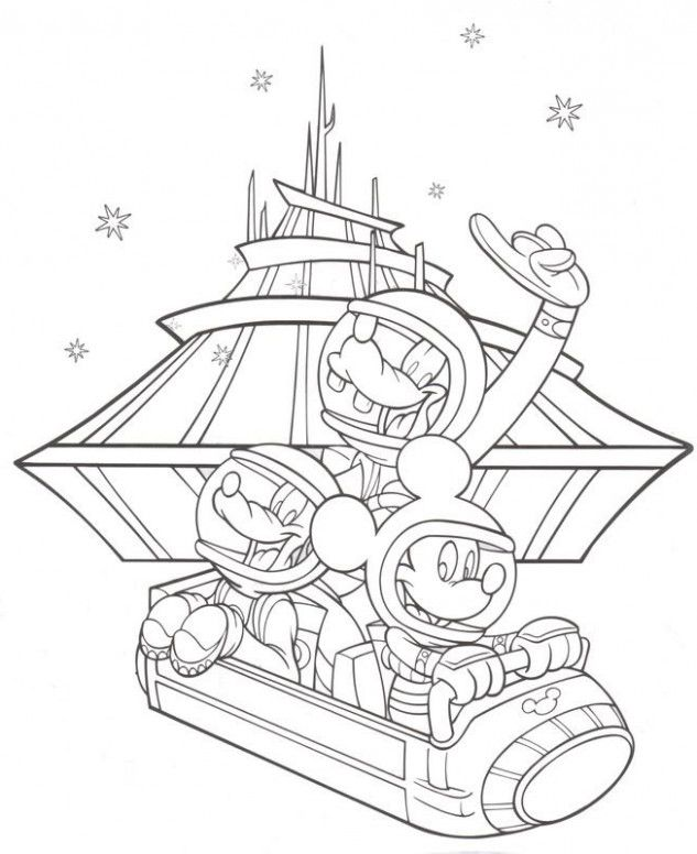15 Common Myths About Disney World Rides Coloring Pages Coloring Disney Coloring Pages Disney Colors Coloring Books