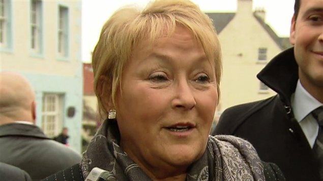 La première ministre du Québec, Pauline Marois