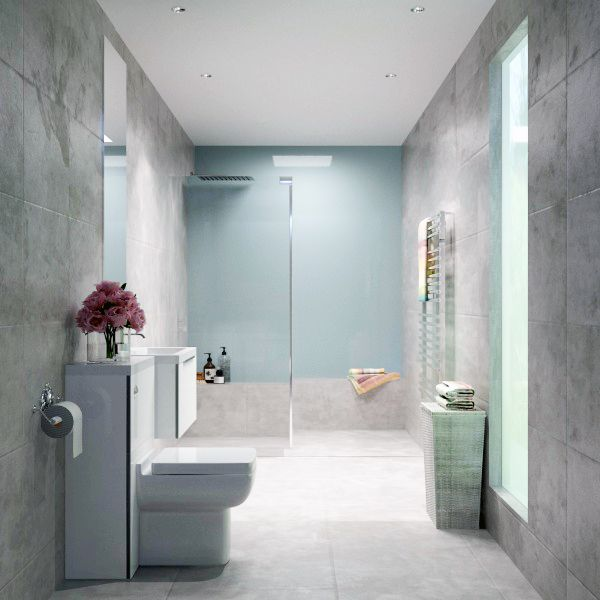 Inspiration from Bathrooms.com: Mermaid panels in the ...