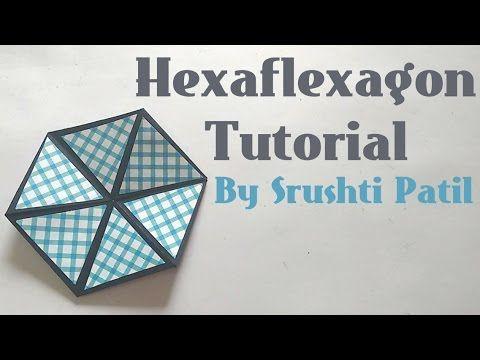 Hexaflexagon/Colour changing Hexagon Tutorial by Srushti Patil - YouTube