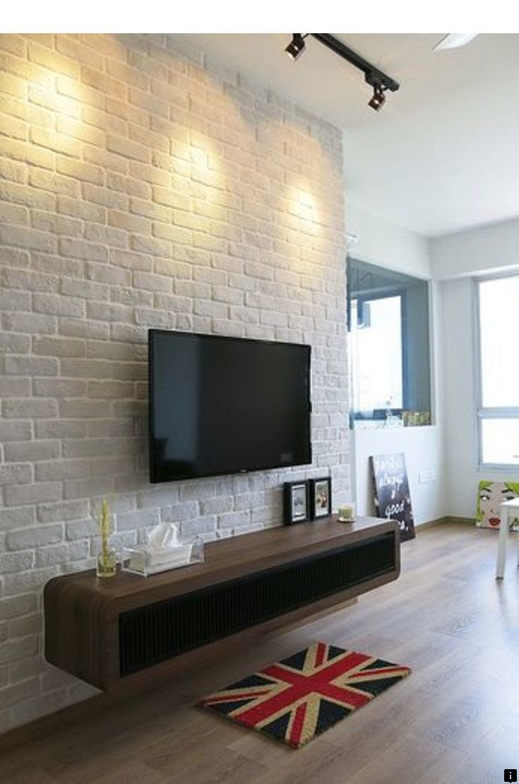 Want To Know More About Corner Tv Mount Please Click Here For More Our Web Images Are A Mus Feature Wall Living Room Brick Interior Brick Feature Wall