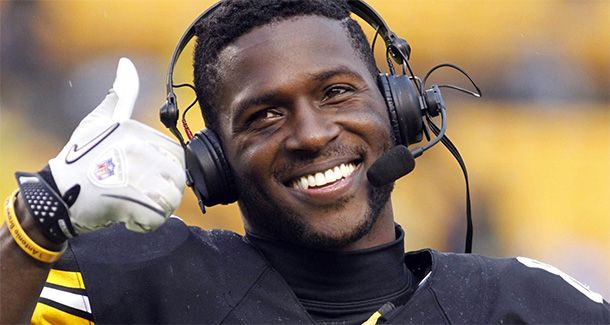 Antonio Brown is why the Steelers Will Lose to the Patriots
