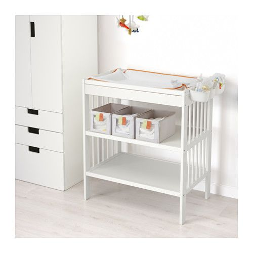 GULLIVER Changing table, white white -
