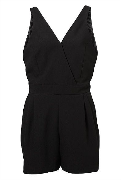 V-Neck Neck Playsuit #witcherychristmaswishlist