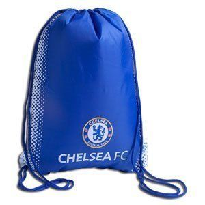 """RHINOX CHELSEA STRING GYM BAG by Rhinox. $9.95. Chelsea Fc Cinch SackThis is an official Chelsea Fc Product.   Team decorated gym bag. Styled in the clubs official colors.Measure Aprox. 12.5"""" x 17"""" To make your purchase as simple and quick as possible, please refer to the store policies listed below."""