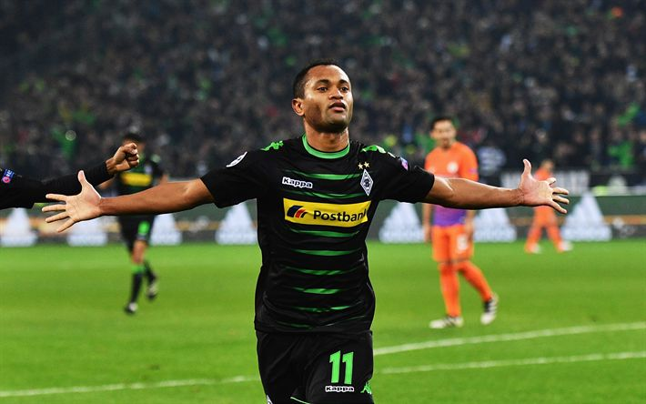 Download wallpapers Raffael, Borussia Moenchengladbach, football, Bundesliga, Germany