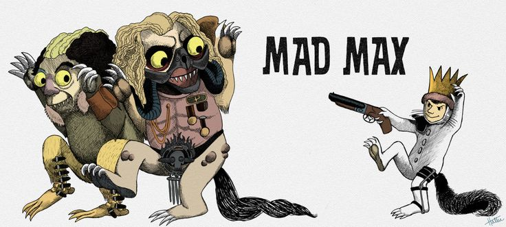 """hattie111: """"Where the Wild Things Are meets Mad Max #MadMax #Toecutter #ImmortanJoe #WhereTheWildThingsAre """""""