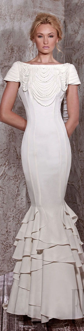 Tony Ward Couture - Summer 2012 Bride Collection  #bride #dress