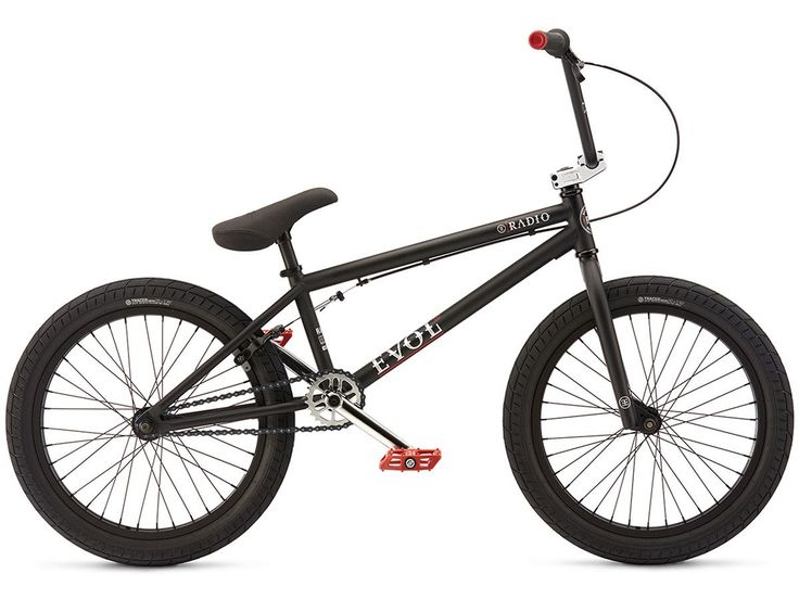"Radio Bikes ""Evol"" 2017 BMX Bike - Matt Black | kunstform BMX Shop & Mailorder - worldwide shipping"