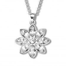 """Halskette """"Kristall Blume"""""""