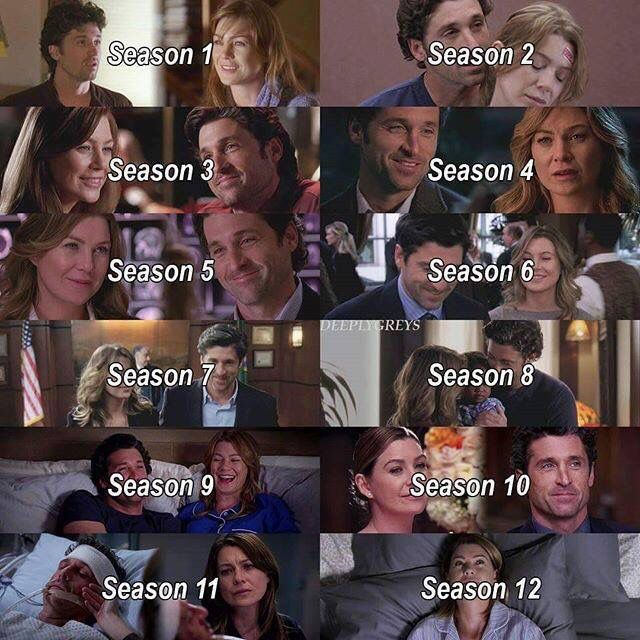 The change between season 1 and season 11 is heart breaking