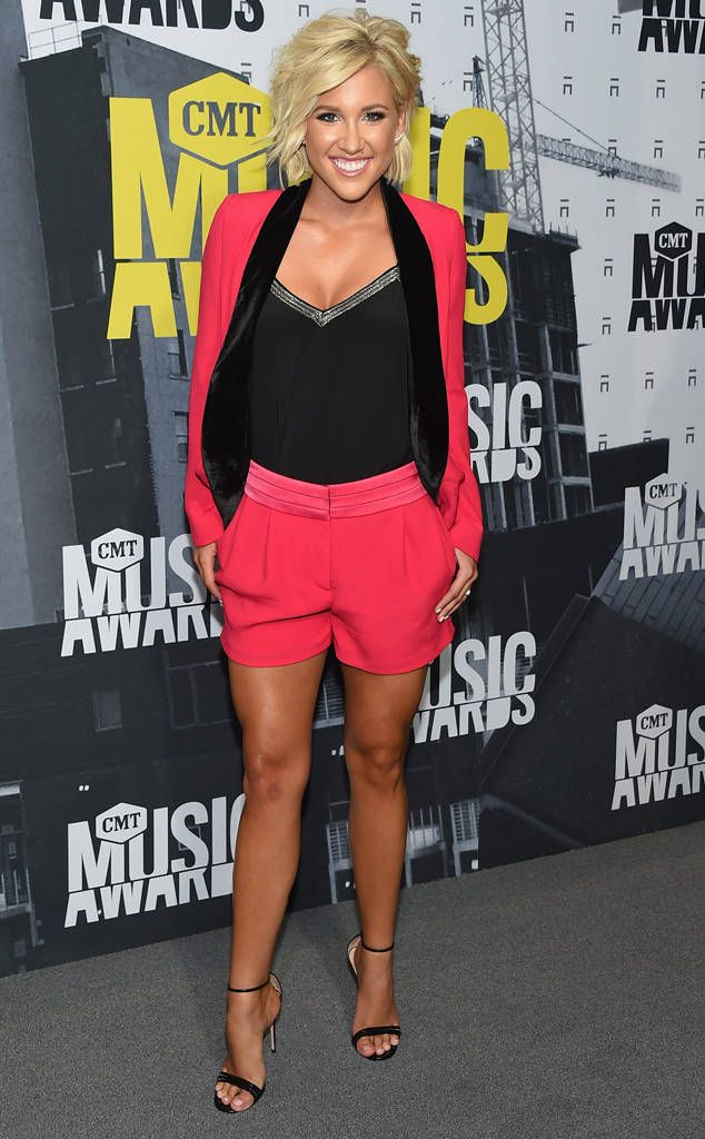 Savannah Chrisley from CMT Music Awards 2017: Red Carpet Arrivals  With her Gucci shoes andThe Kooples apparel,the Chrisley Knows Best star is ready to shine.