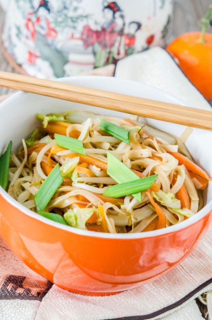 Andreea's Chinesefood blog: Tăiței simpli cu legume 炒面