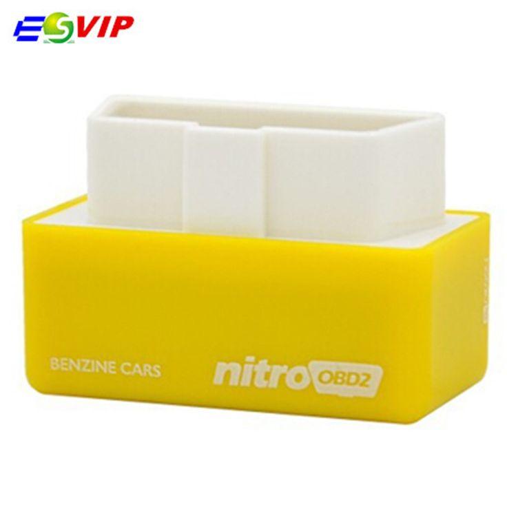 2016 High Quality Performance Plug and Drive NitroOBD2 Chip Tuning Box for Benzine Cars Nitro OBD2 Chip Tuning Box #Affiliate