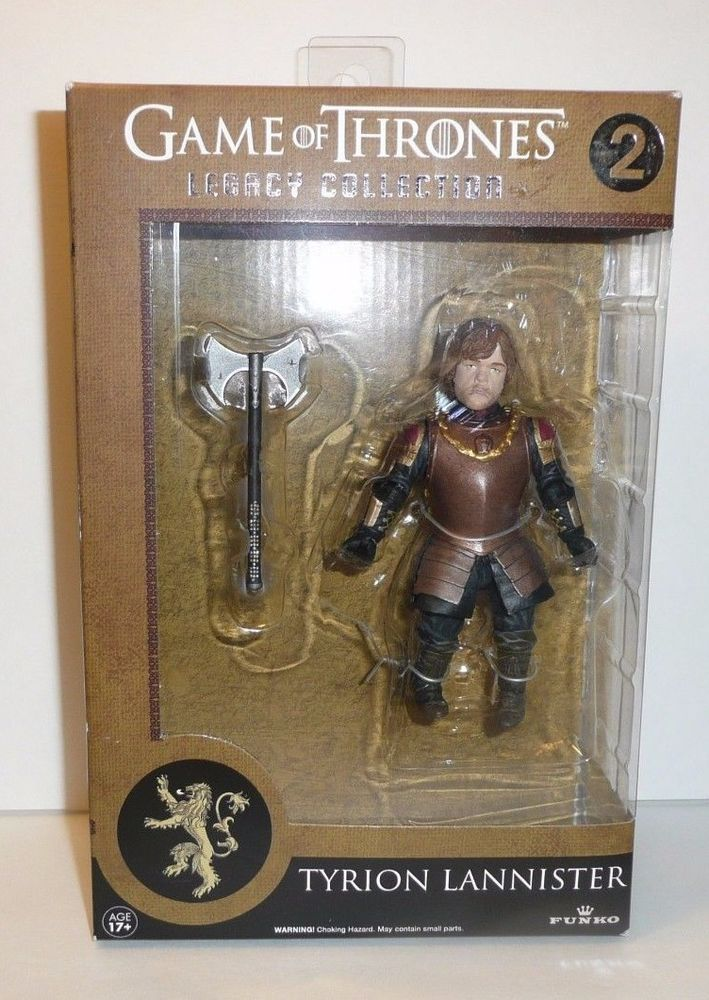 Tyrion Lannister in Armor - Game of Thrones GoT Action Figure Legacy Collection #FUNKO