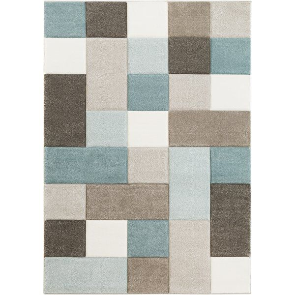 Colorful and unique, the Mott Street collection by Varick Gallery® features unique geometric design that would look great in any space. Made from polypropylene, this Mott Street Modern Geometric Carved Teal/Brown Area Rug features a super soft and comfy high pile. Rug pad recommended. Spot clean or professionally clean only.