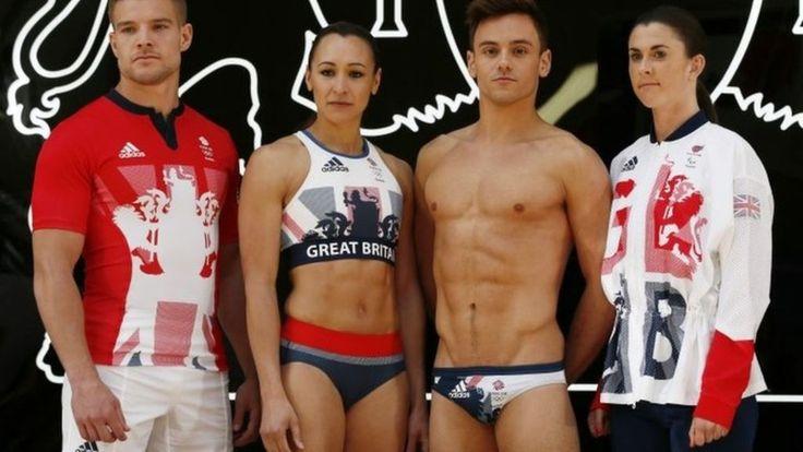 Team GB unveils Rio 2016 kit - BBC News