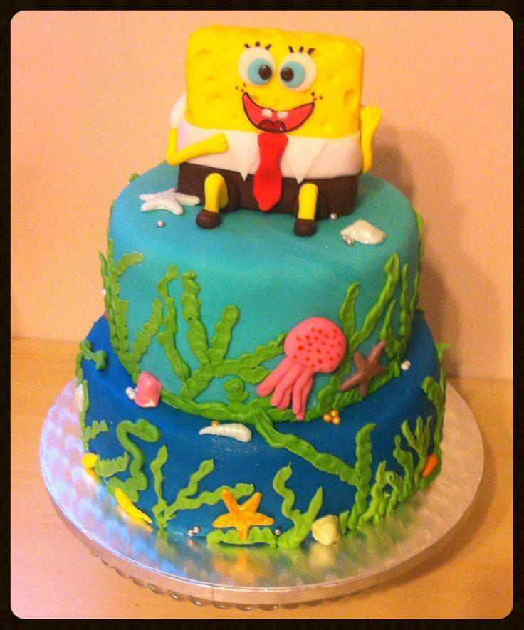 Tort urodzinowy - Spongebob