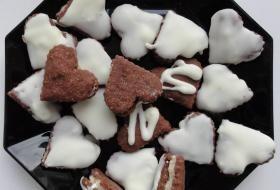 Jak upéct mocca koláčky (srdíčka) | recept