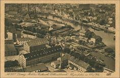 Rzeka Motława, Gdańsk - 1929 rok, stare zdjęcia