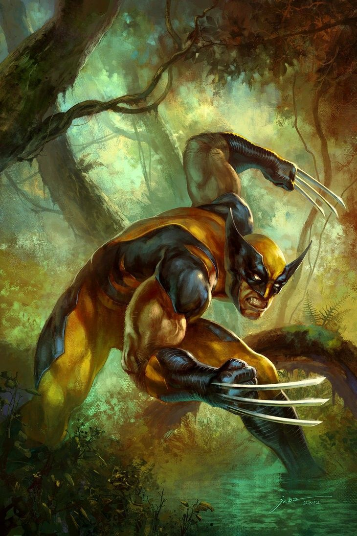 Marvel Comic Book Artwork • Wolverine. Follow us for more awesome comic art, or check out our online store www.7ate9comics.com