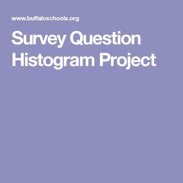 Survey Question Histogram Project