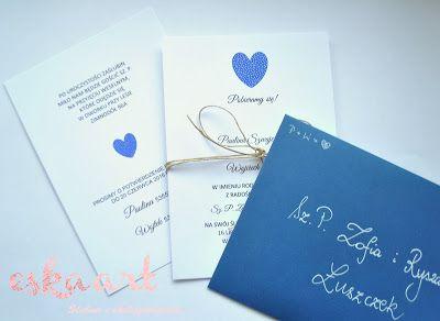 eskaart - Ślubnie i okolicznościowo... Wedding invitation Wedding Zaproszenia Ślubne Ślub