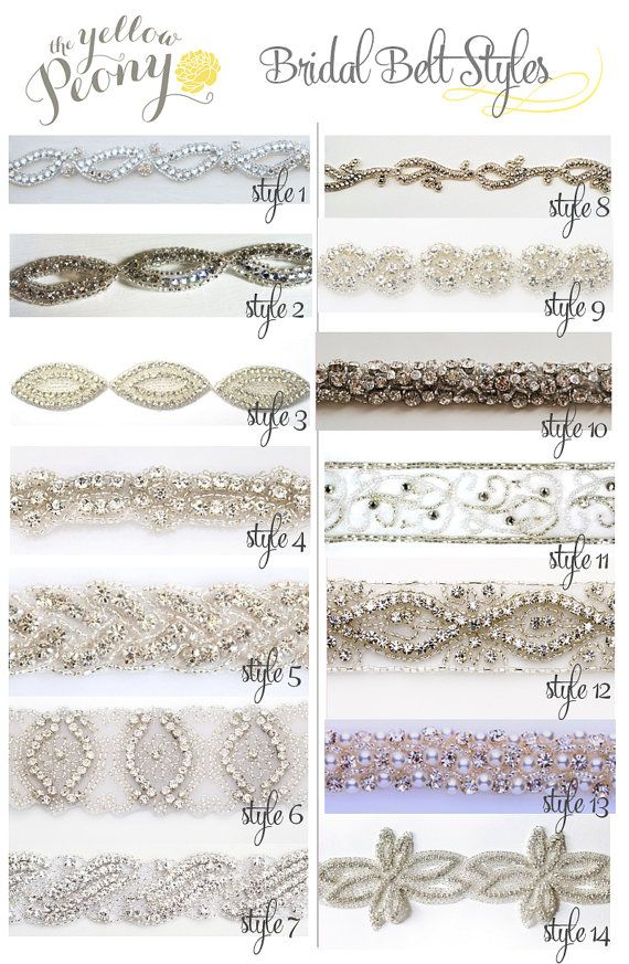 Custom Bridal Belt or Wedding Dress Sash, Rhinestone belt, Diamond wedding belt