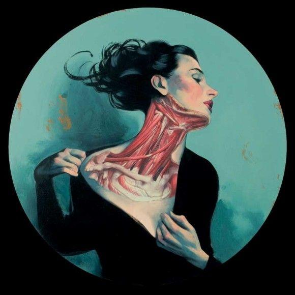 Fernando Vicente #medical #art #illustration #fernandovincente #anatomy