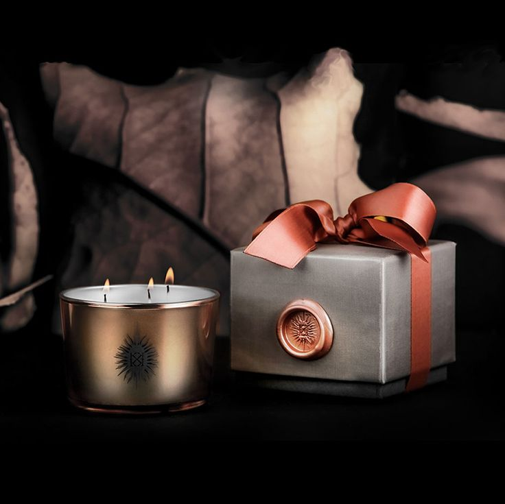 Kathaline Page-Guth | MIRTHE EPICEE SCENTED CANDLE copper