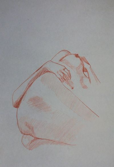 Life drawings from our members and news from our group - Simply Drawing  Drawing by Sandrine Pelissier