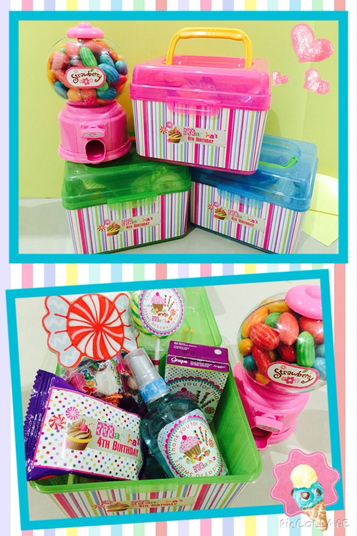 Goodie Bag candy themed #diy#candy#sweet#lolipop#birthday#bday#favour#marsha#ryumiru#candymachine#juicycolor