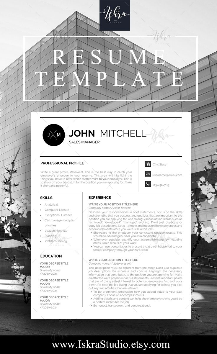 Modern Resume Template, Cv Template, Templates Free, Resume Templates,  Cover Letter Template, Resume Design, Support Small Business, Small  Businesses, ...  Free Resume Designs