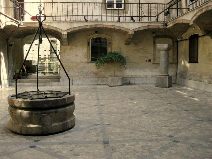 Old fountain, Ljubljana, Slovenia