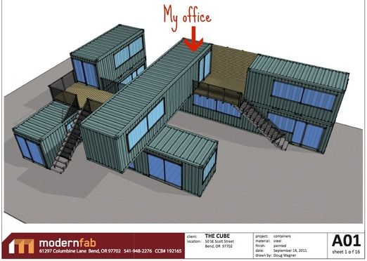 Shipping Container Office Update Charmaine Manley Design