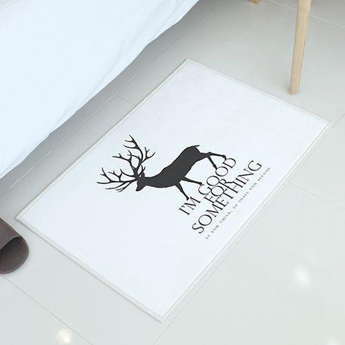 【ラグ】リマインド(鹿)_50X70 #rug #sangsanghoo #interior