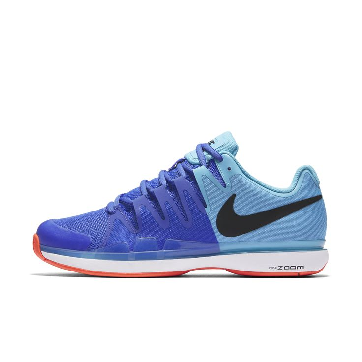 Nike NikeCourt Zoom Vapor 9.5 Tour Men's Tennis Shoe Size 7 (Blue) -  Clearance Sale