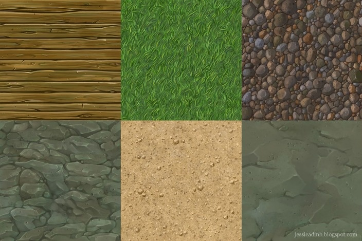 Jessica Dinh Tileable Textures 2
