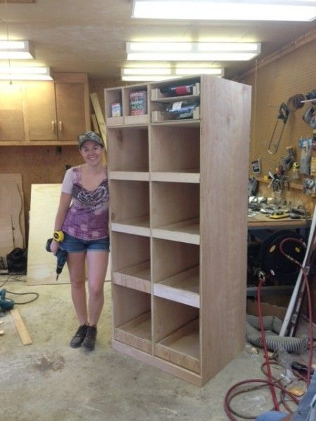 DIY Freestanding Pantry with Pullout Drawers | Wilker Do's
