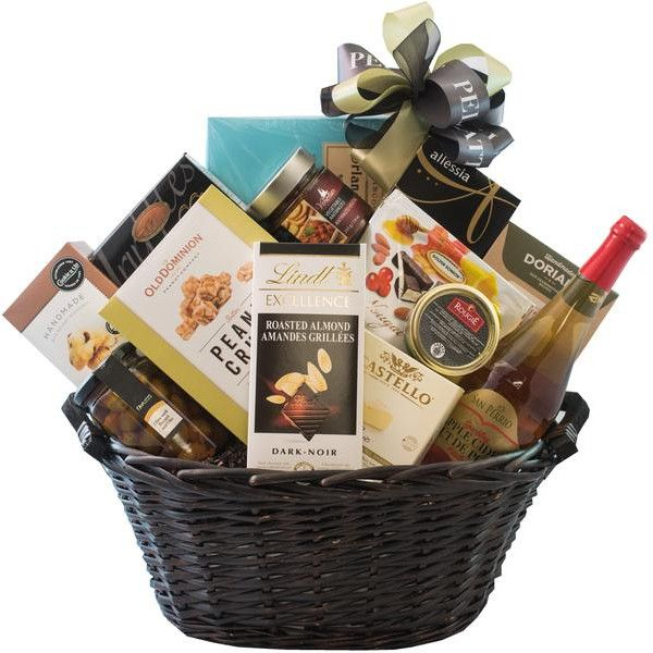 Luxurious Flavours Gift Basket For The Luxurious Person With