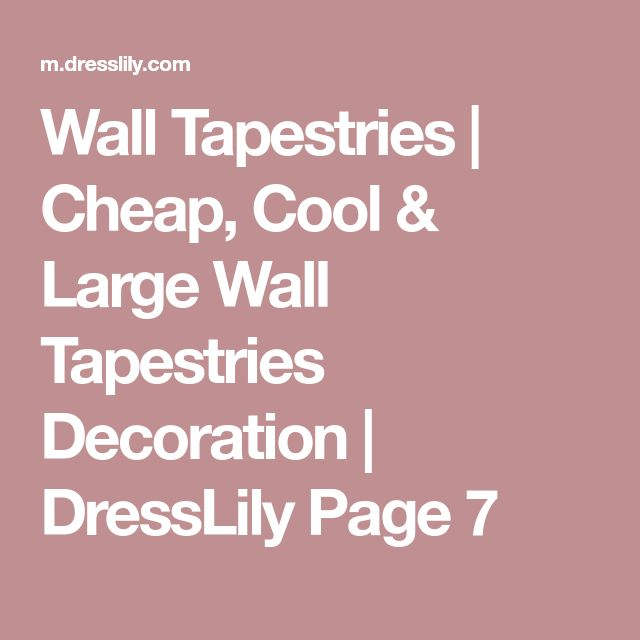 Wall Tapestries | Cheap, Cool & Large Wall Tapestries Decoration | DressLily Page 7
