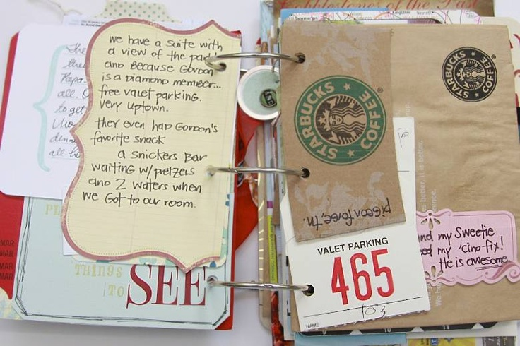 This is a great way to save papers that mean something to you, obsessed with this pin! awesome find...