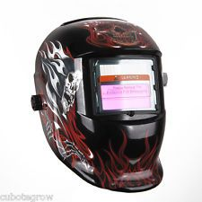 US Pro Solar Auto Darkening Welding Helmet LCD Arc Tig Mig Mask Grinding Welder