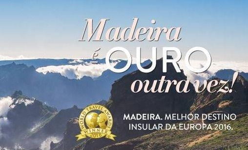 """Madeira Islands were elected by the """"World Travel Awards"""" organization as Europe's Leading Island Destination for 2016 for the third time!   Hotel Madeira invites you to the heart of Funchal, the capital of the best island destination in Europe, so our guests can enjoy the best that Madeira has to offer.   #HotelMadeira #Madeira #Awards #WTA2016 #Funchal #Gold"""