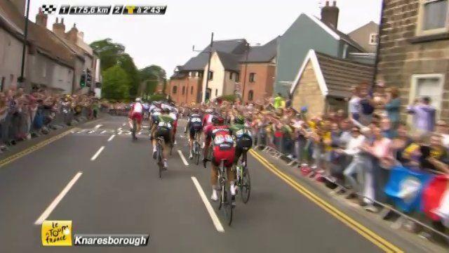 Tour de France in Yorkshire - Knaresborough crowned 'Best Dressed' town of Le Tour