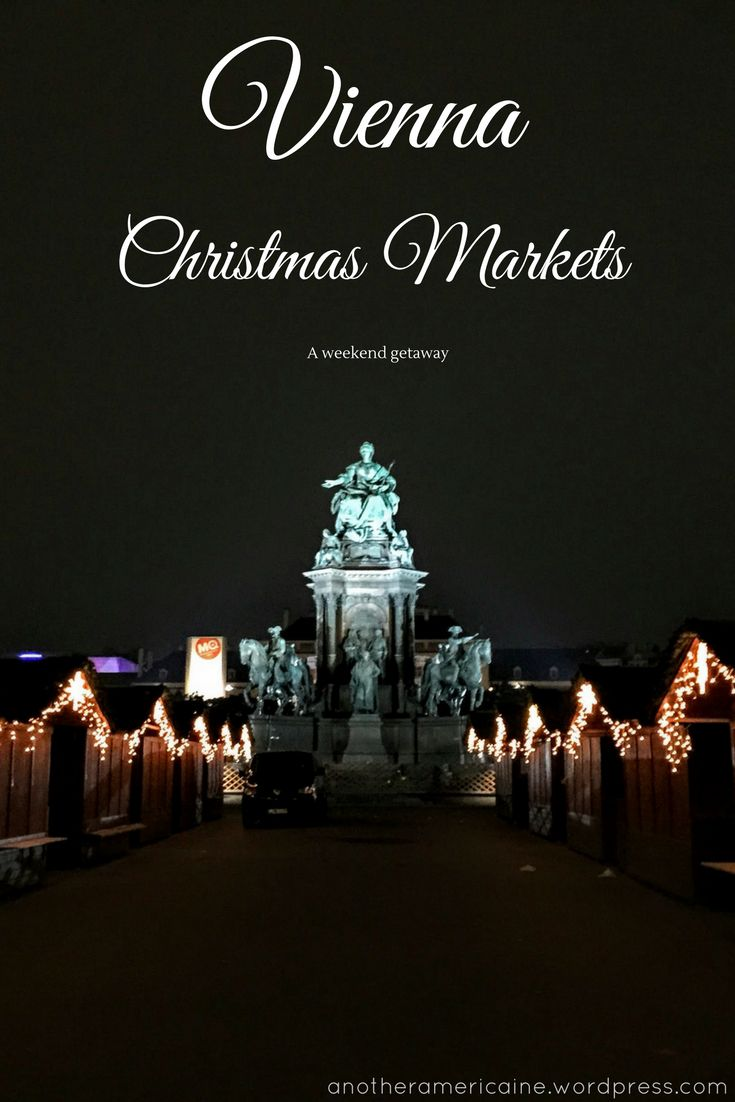 Getaway to the romantic Christmas Markets of Vienna for holiday gifts, magic, lights, and delicious yuletide treats!