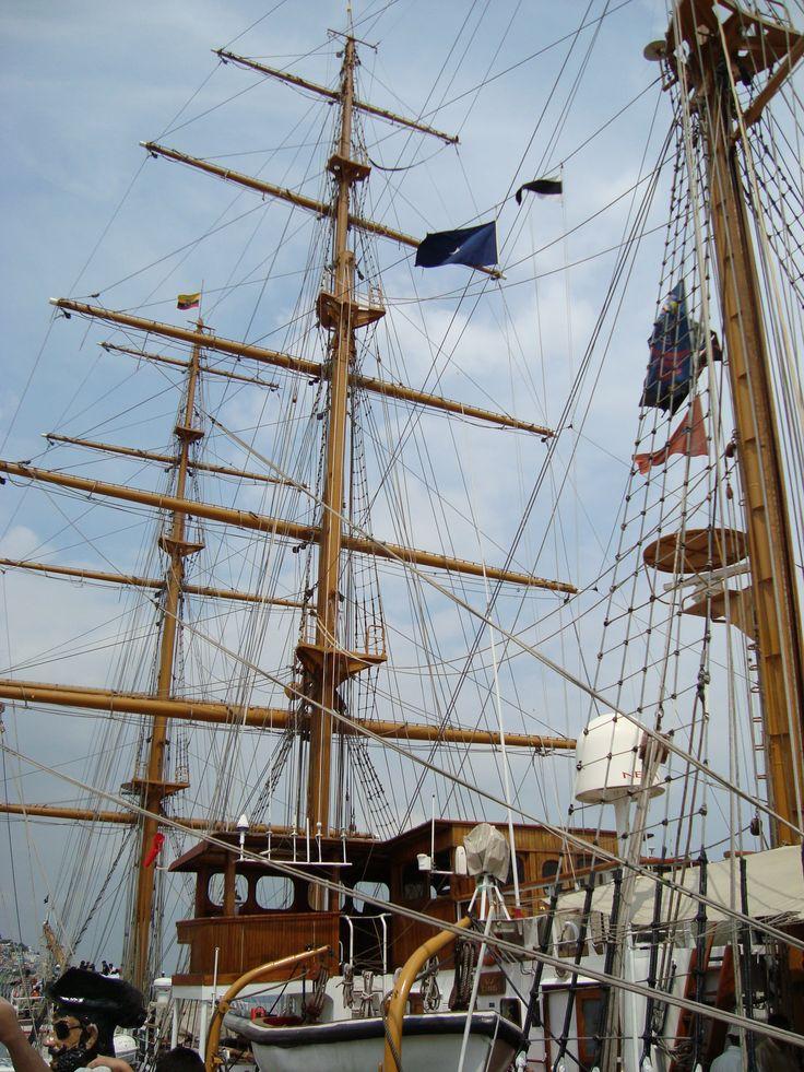 Buque Guayas - Ecuador  Guayas Ship - Ecuador