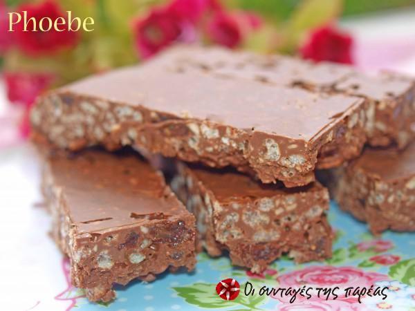 Σοκολατένιες λιχουδιές #sintagespareas