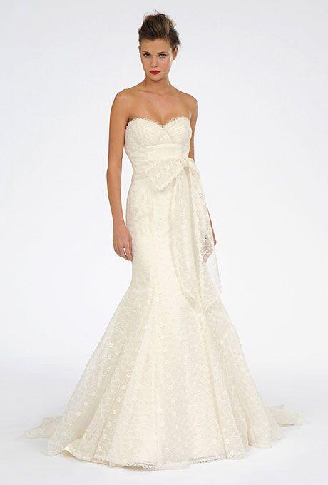 Melissa Sweet Spring 2012 Wedding Dress - Eyelet Silk Organza fit to flare wedding gown : Melissa Sweet Spring 2012 Wedding Dress – Eyelet Silk Organza fit to flare wedding gown