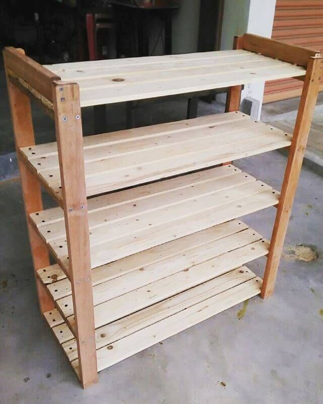 Wood Pallet Pallet shelf ideas - Here, I am going to introduce you the most stylish and economical recycled pallet furniture with art decor ideas.